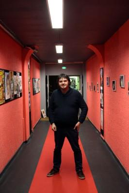 Sébastien Martinez, directeur et comédien © Photographie Marion Quesneau