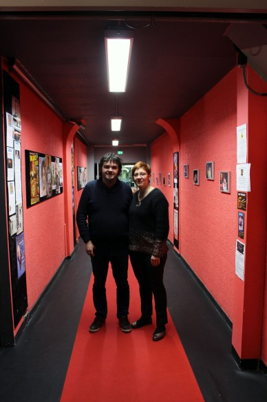 L'équipe de la Boîte à Rire Lille - Sébastien Martinez et Colette Cazin © Photographie Marion Quesneau